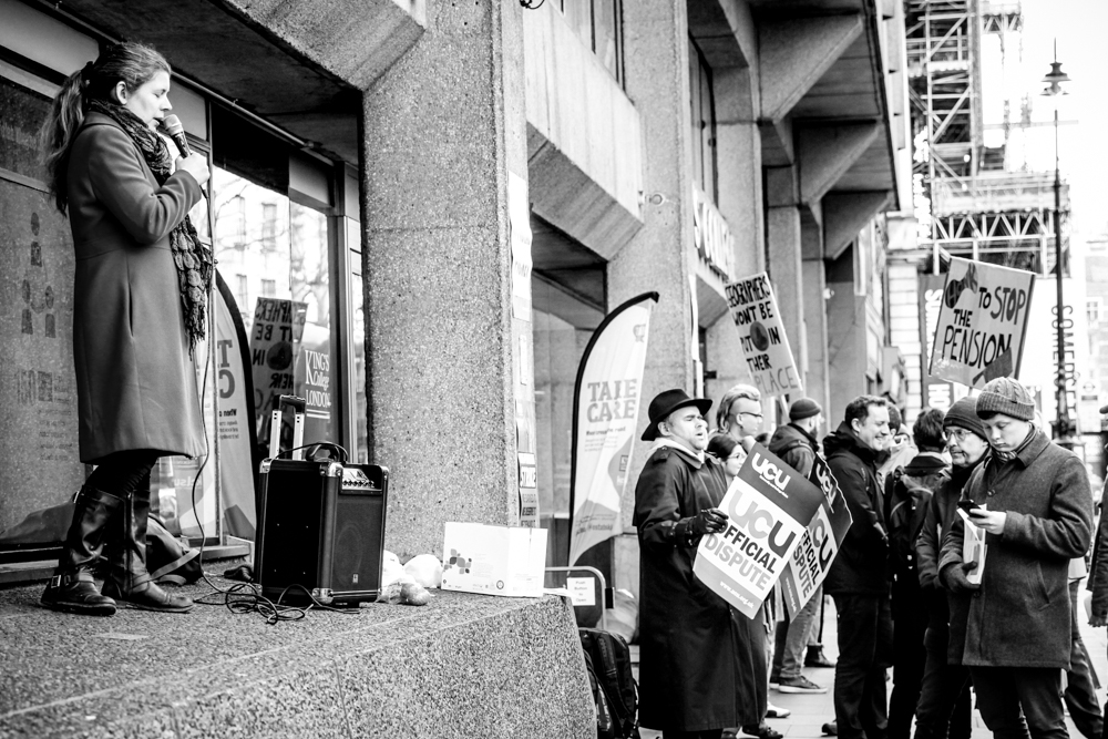 Stories from the picket line